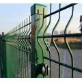 Еврозабор темно-зеленый RAL 6005 Еврозабор из сетки с полимерным покрытием. Евроограждение из панелей.