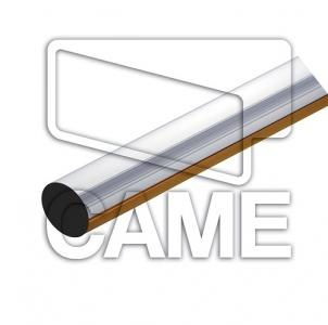 Стрела круглая алюминиевая для шлагбаума Came Gard8000 длина 4 метра. Антиветер/дюралайт. (001g06000)