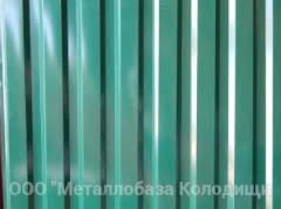 Металлопрофиль С-8 высота листа 1.7 метра 6005