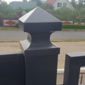 Крышка для столба 100х100 с пирамидкой