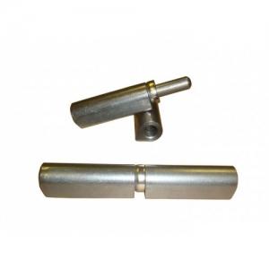 Петля для форточки каплевидная приварная 14х80 мм, с шайбой