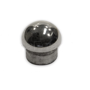 Заглушка сферическая на трубу диаметром 16 мм (AISI 304), арт. 264