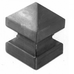 Крышка для столба 120х120 с пирамидкой. АРТ.62.112