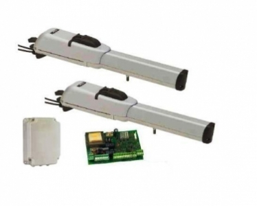 Комплект для автоматизации распашных ворот FAAC 413 KIT. Производство Италия.