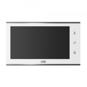Видеодомофон CTV-M4707IP-W белый цвет