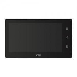 Видеодомофон CTV-4706-AHD-B черный цвет