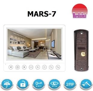 Комплект видеодомофона MARS-7W