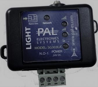 GSM-модуль SG303LA для управления автоматикой, дверями, воротами (белый)