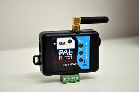 GSM-модуль SG303GA для управления автоматикой, дверями, воротами (голубой)