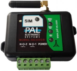 GSM-модуль SG303GB для управления автоматикой, дверями, воротами (зеленый)