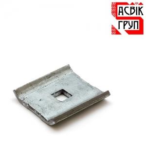 Крепление-скоба Лайт для забора из 3Д сетки