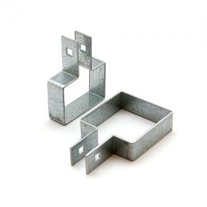 Крепление хомут для забора из 3Д сетки