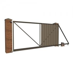 Каркас - рама - откатных ворот Стандарт   комплектующие Combi Arialdo