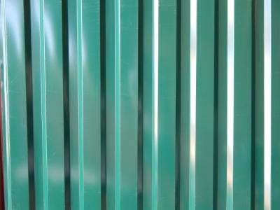 темно-зеленый профнастил в минске
