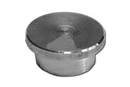 Заглушка для трубы 16 мм, забивная (AISI 304), арт. 040-3
