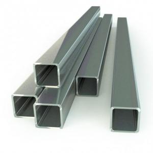 Алюминиевая профильная труба 40х20х2 мм