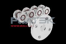 Опора роликовая с боковым креплением ЭКО код 005