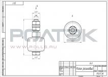 ролик резиновый РОЛТЭК код 041