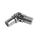 Поворот ригеля 16х1.5 мм из нержавейки(AISI304), арт.060