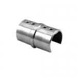 Элемент верха стойки (трубы) из нержавеющей стали  диаметром 50.8 мм, овальный