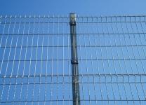 ЗД еврозабор оцинкованный. Высота 1,5 метра. Ширина панели 2,5 метра.
