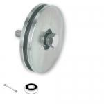 Колесо для ворот с осевым креплением, диаметр 70 мм. ART.403.70