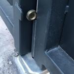 Автоматический засов для двухстворчатых распашных ворот, IBFM Италия. Арт.418