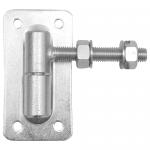 Петля регулируемая с пластиной крепления, М18. АРТ.61.066