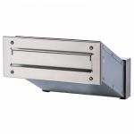 Ящик почтовый уличный встраиваемый INOX. АРТ.65.325