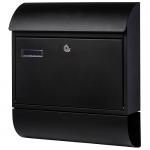 Ящик почтовый уличный черный. АРТ.65.346
