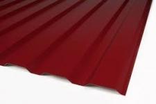 Металлопрофиль для забора (профнастил) С-20 высота листа 1.7 метра 3005 (вишнёвый, винно-красный)