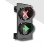 Двухцветный светодиодный светофор с указателем серии Apollo. арт.ASF25L2RVD (Красный/Зеленый)