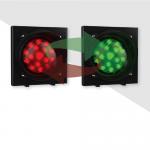 Двухцветный светодиодный светофор серии Apollo Plast. арт.ASF36L1RV230 (Красный/Зеленый)