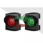 Двухцветный светодиодный светофор серии Apollo Plast. арт.ASF36L1RV (Красный/Зеленый)