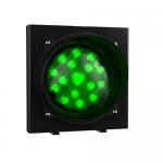 Одноцветный светодиодный светофор серии Apollo Plast. арт.ASFV (Зеленый)