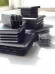 Заглушка пластиковая для трубы размером 60х40 от производителя