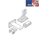 Регулируемый задний кронштейн для приводов распашных ворот Nice PLA16