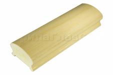 Поручень пластиковый фигурный текстурный, беленый дуб, арт. К899-3