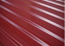 Профнастил для забора (металлопрофиль) С-20 высота листа 1.8 метра 3005 (вишнёвый)