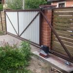 Каркас откатных ворот Стандарт ЭКО купить в Минске - лучшая цена