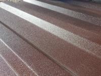 Металлопрофиль (профнастил) матовый шоколадно-коричневый