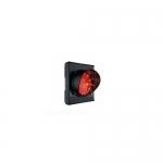 Светофор светодиодный, 1-секционный, красный. 230В. АРТ.C0000704.1