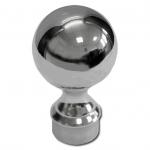 Наконечник стойки диаметром 38,1 мм, шар литой, арт.к070