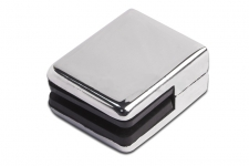 Стеклодержатель квадратный на плоскость (AISI 304), арт. 352