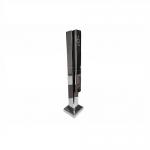 Стеклодержатель напольный 40х40х400 мм для стекла 8-20 мм АРТ k278