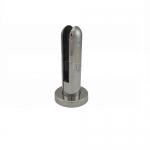 Стеклодержатель литой напольный, круглый Ø50х190 мм, AISI 304 АРТ.k276-3