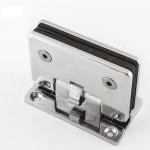 Петля для душевой кабины стена-стекло 90° 90х55 мм AISI 304 шлифованная. АРТ.t301-2 SSS