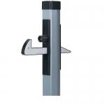 Улавливатель для ворот алюминиевый. АРТ.UNDER-GATE CATCHER