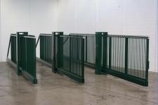 Промышленные откатные ворота. Проезд от 6 метров. Каркасы и установка под ключ.