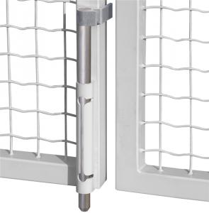 Засов воротный вертикальный механический VSF